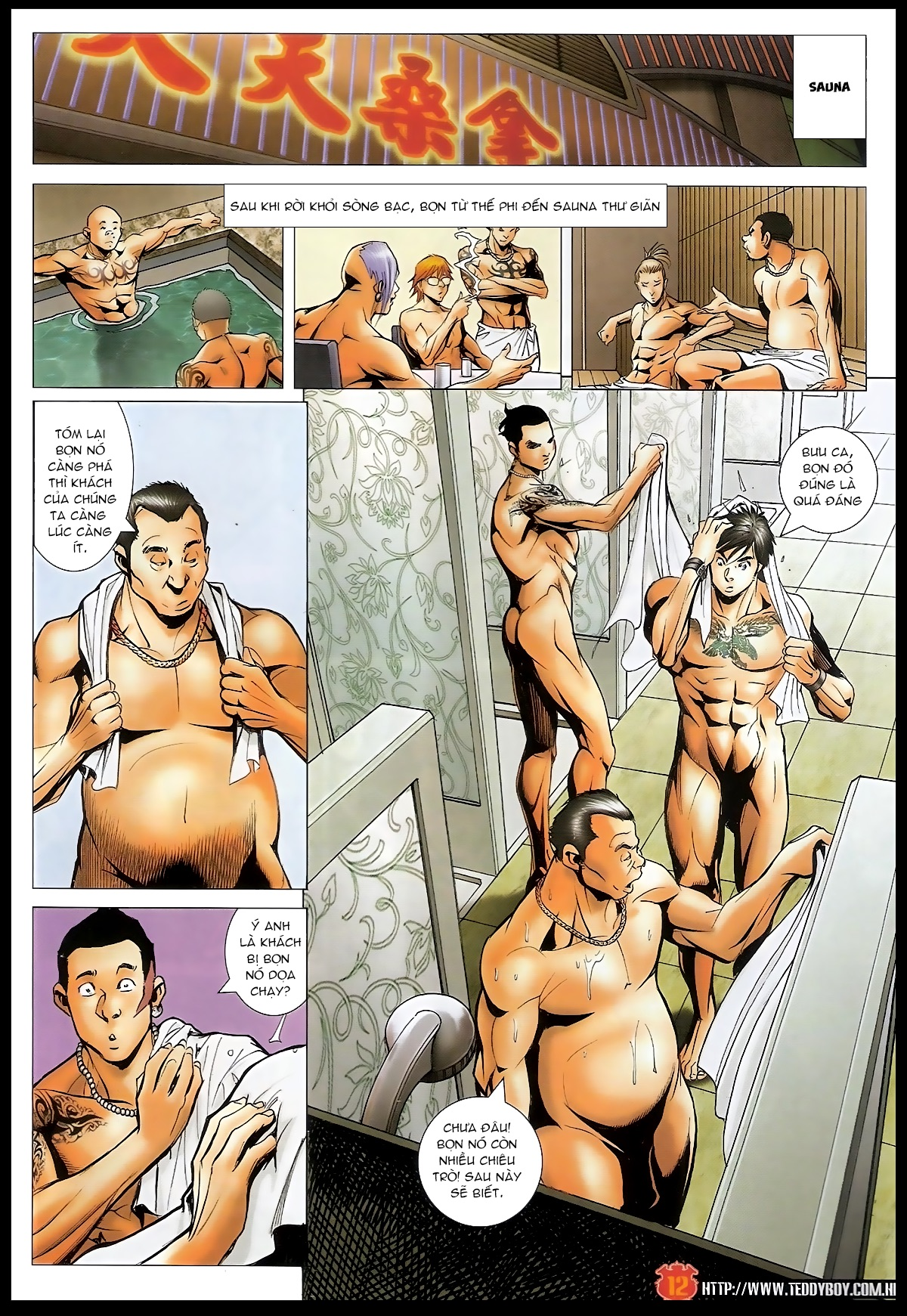 Người Trong Giang Hồ - Chapter 1566: Bốc shit - Pic 11