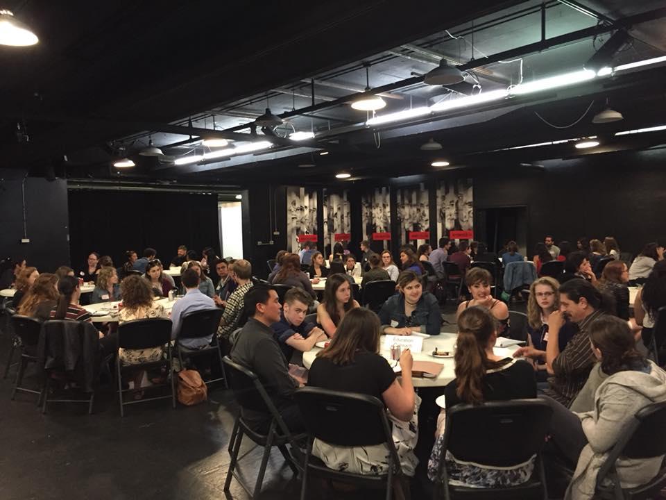 collective leverage: Chicago Theatre Intern Networking Event