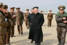 Kim Jong Un briefed on Guam missile tests