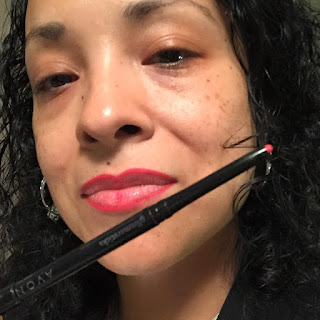Avon Glimmerstick Lip Liner True Red