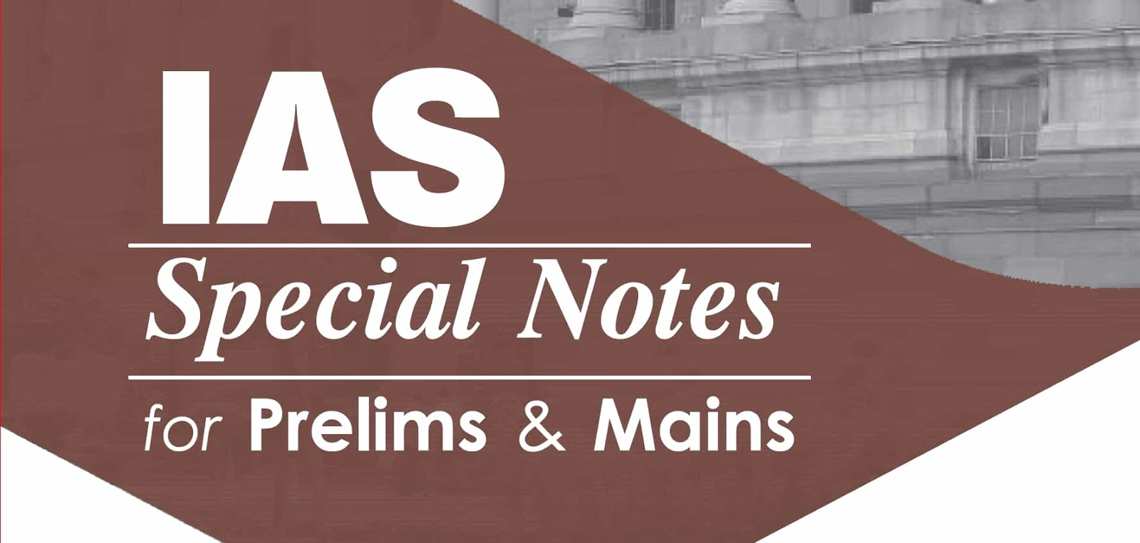 Act and Polices IAS Special Notes 2020