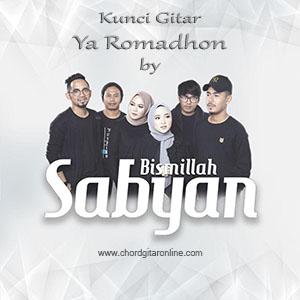 Chord Kunci Gitar Ya Romadhon Nissa Sabyan Gambus