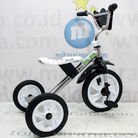 Sepeda Roda Tiga BMX Yoe Yoe CP - Crome Pernekel