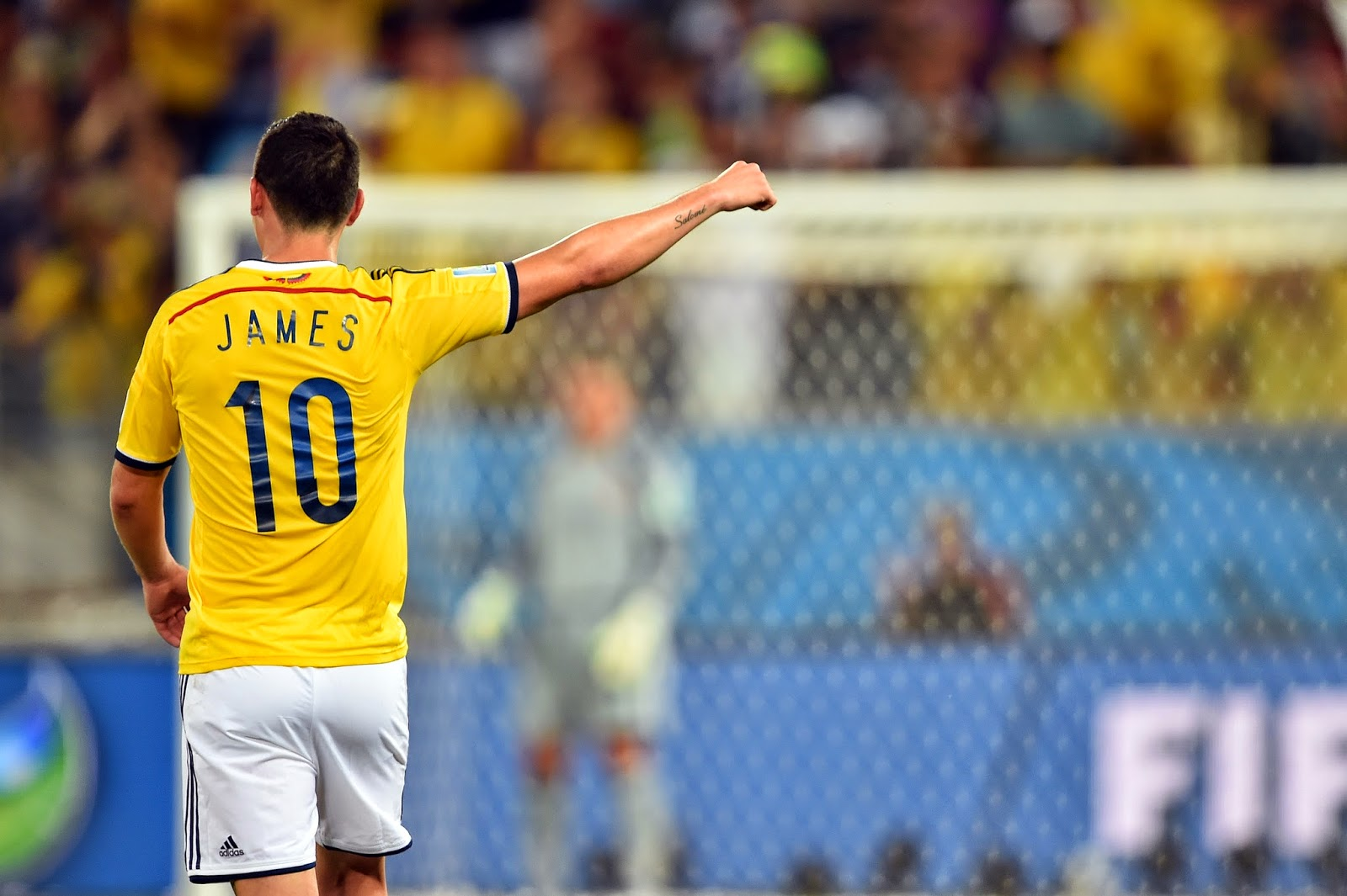 James rodriguez of colombia at 2014 world cup wallpaper - James rodriguez wallpaper hd ...