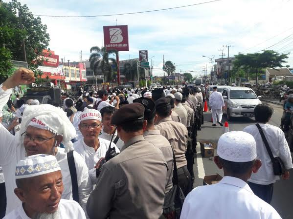 Aksi 212 Di Kediri Berlangsung Aman Dan Kondusif