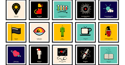 Get your Viktor Hertz Pictogram vinyl posters!