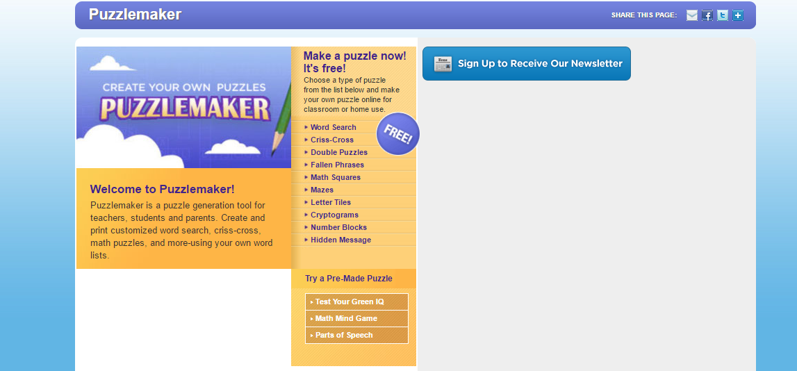 damla tuncez s elt blog create your own puzzle with puzzlemaker