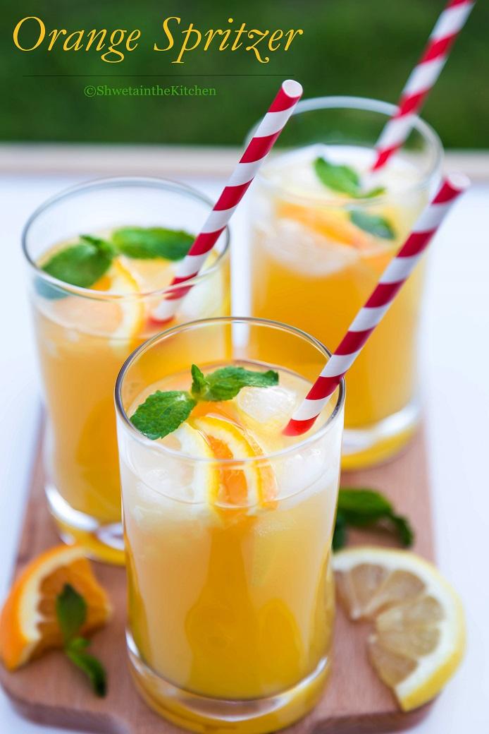 Orange Spritzer Shweta In The Kitchen