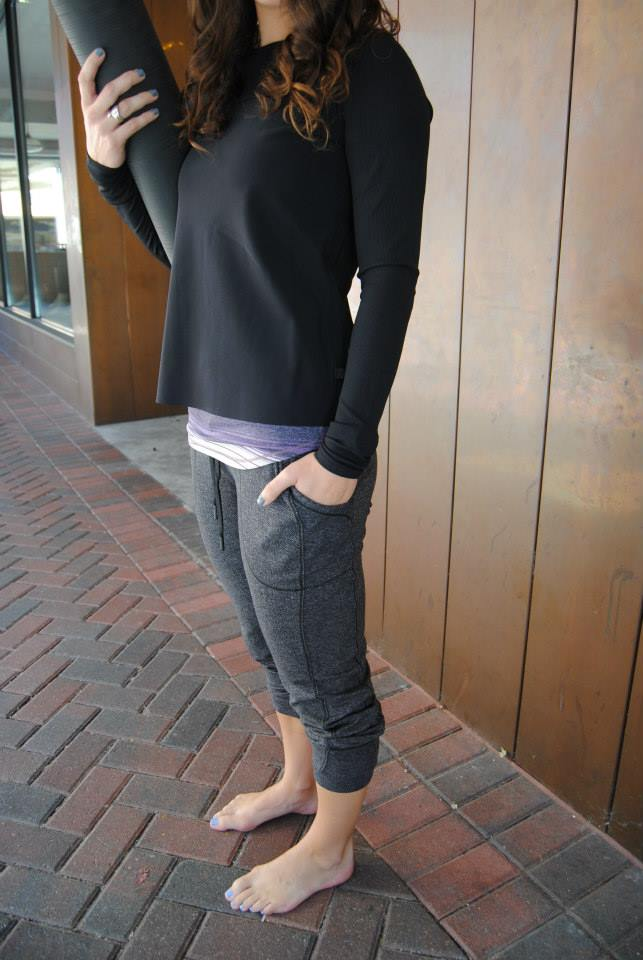 lululemon base runner pant herringbone