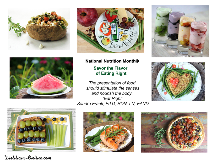 essay about nutrition month