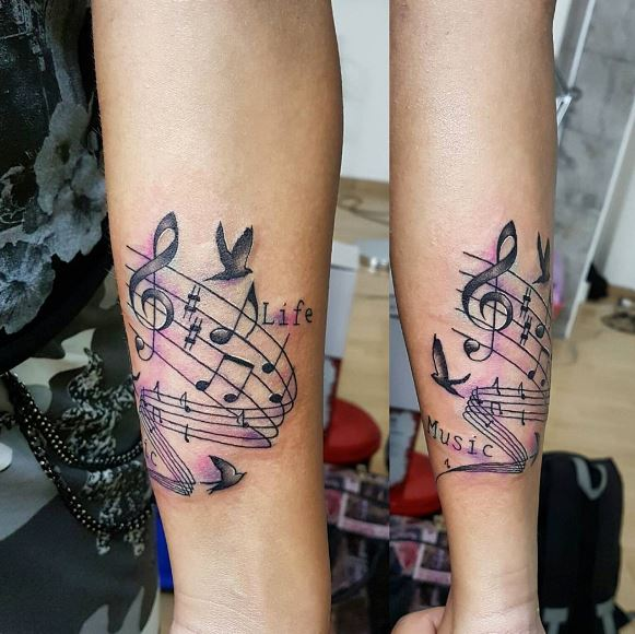 Electronic Music Tattoo Ideas