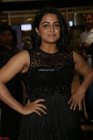 Wamiqa Gabbi in a sleeveless Black Designer Transparent Gown at 64th Jio Filmfare Awards South ~  Exclusive 105.JPG