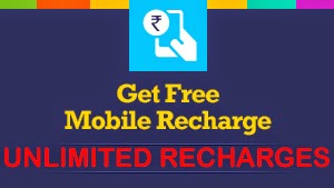 Get unlimited free mobile recharge
