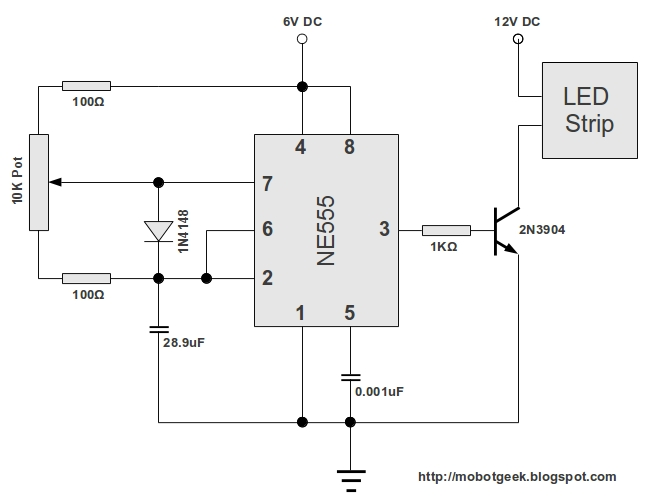Led Light Controller Circuit