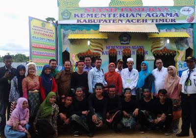 Siswa MAN Insan Cendekia Aceh Timur Meriahkan Pekan Kebudayaan Aceh Timur (PKAT) Ke-I