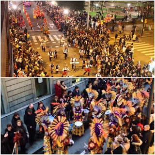 Desfile del Antroxu Gijón
