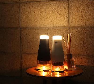 Lumir C - Candle Powered Lamp