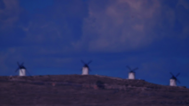 La Mancha windmills, copyright Deborah Cater 2017