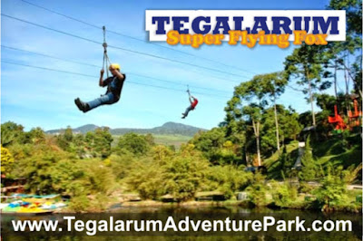 asyik nya flying fox di Tegalarum wonosari