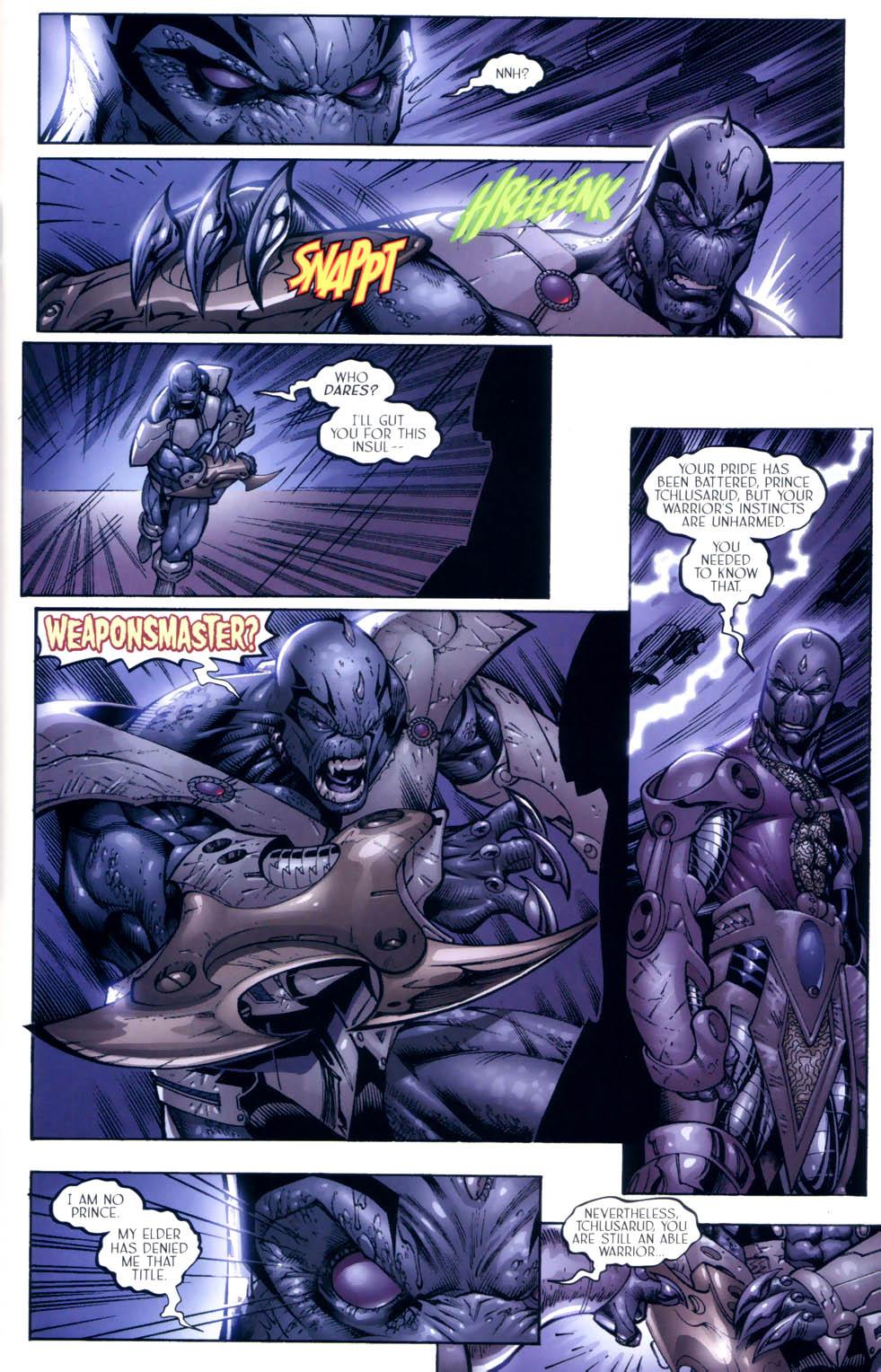 Read online Sigil (2000) comic -  Issue #9 - 9