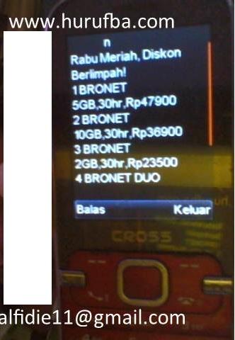 Daftar Harga Paket Kuota Internet Axis Rabu Rawit