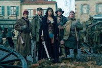 Said Taghmaoui, Chris Pine, Gal Gadot, Eugene Brave Rock and Ewen Bremner in Wonder Woman (2017) (76)