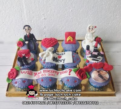 Cupcake Engagament - Hantaran Lamaran