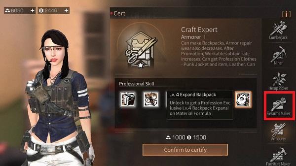 Professional certified gun maker game Lifeafter