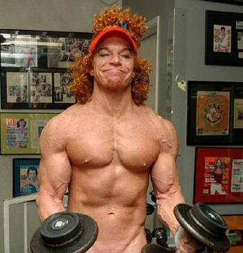 STRENGTH FIGHTER™: Carrot Top synthol