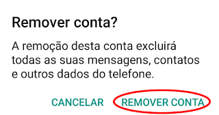 Como sair do GMAIL e-mail