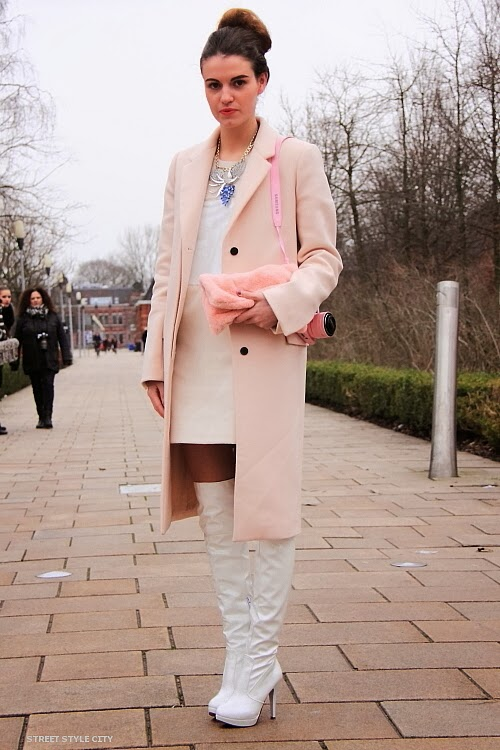 Street Style Fashionista Michelle On Amsterdam Fashion Week