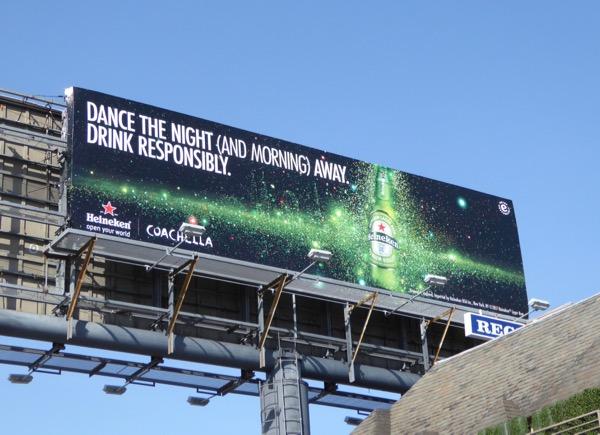 Heineken Dance the night away billboard
