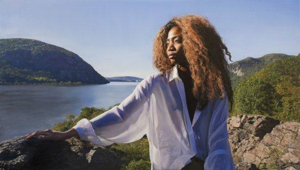 Yigal Ozeri pinturas hiper-realistas mulheres natureza foto-realismo impressionante