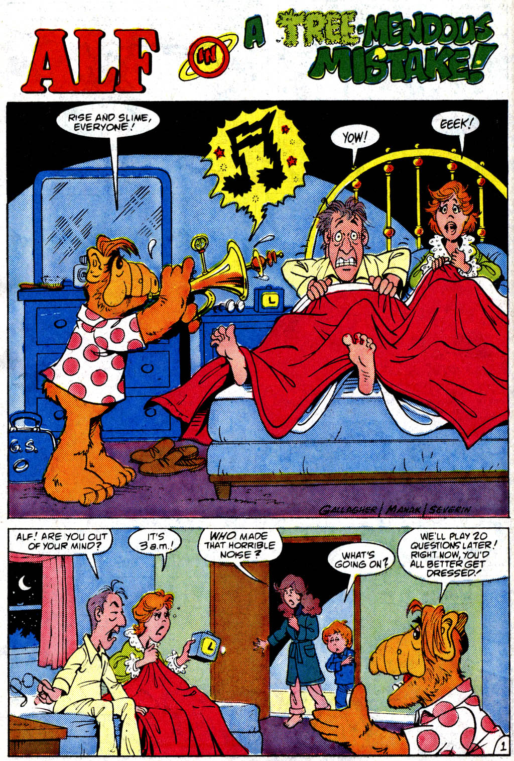Read online ALF comic -  Issue #9 - 17