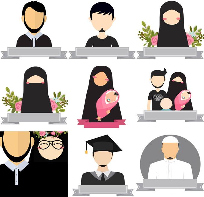 Avatar 3 2017: Download Kumpulan Desain Avatar Muslim Dan Muslimah
