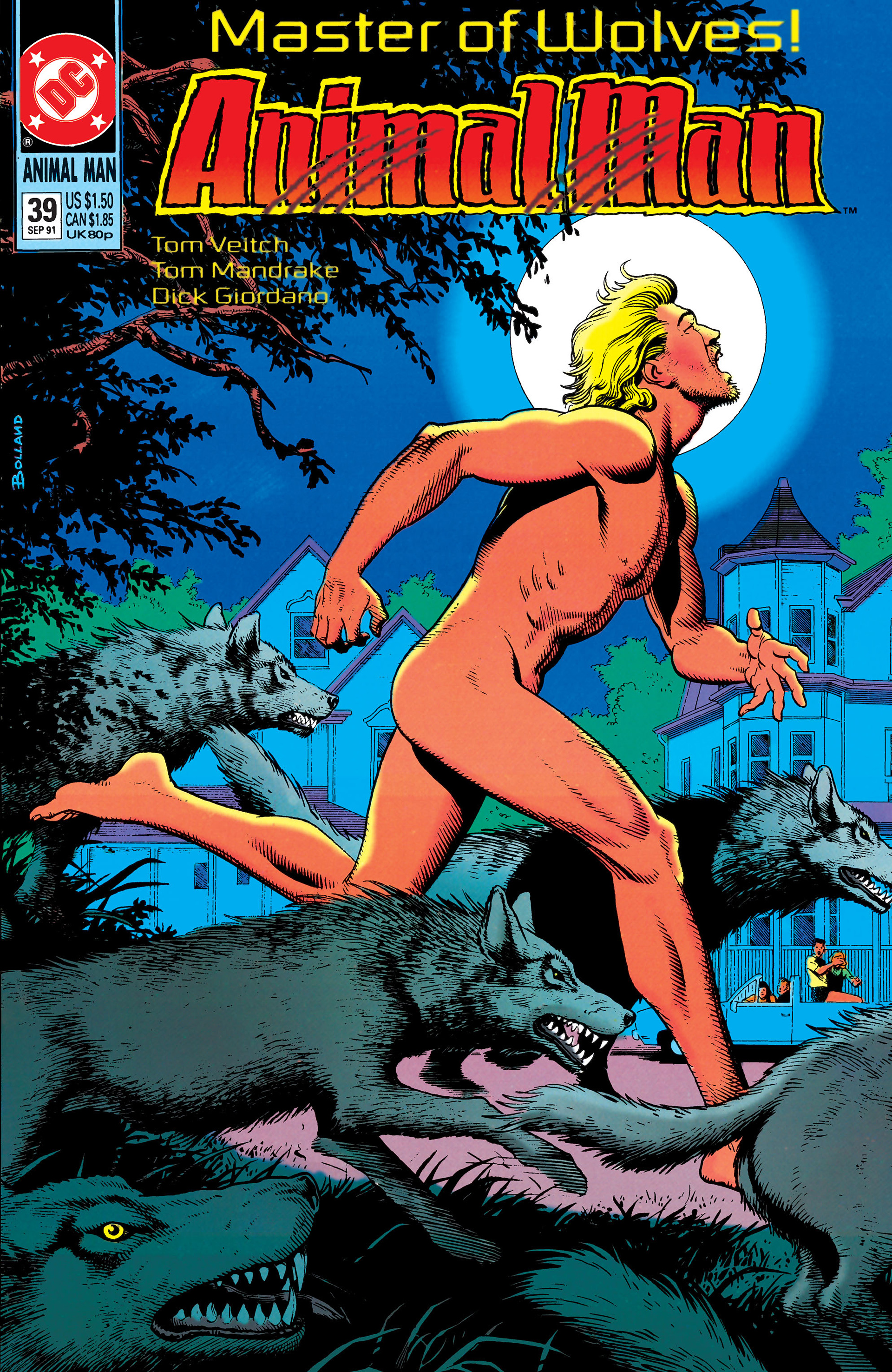 Animal Man issue 39 - Page 1