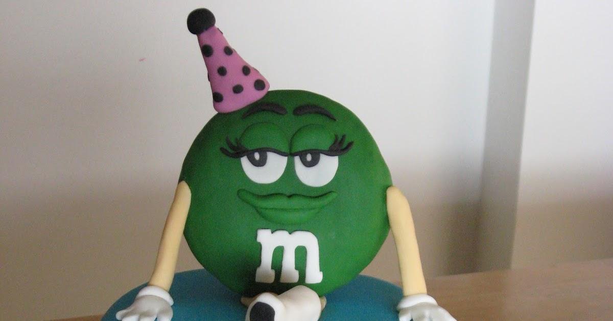 Sweet Cakes Dc Green M Amp M Cake