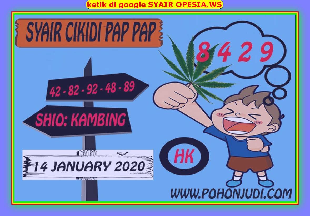 Kode syair Hongkong Selasa 14 Januari 2020 160