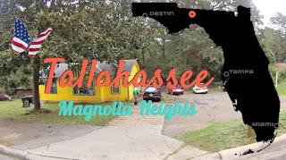 Tallahassee Magnolia Heights, Florida USA