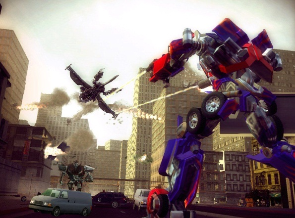 Transformers The Game jogos PC