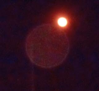 orb near moon