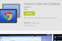 Mengendalikan komputer dengan google chrome
