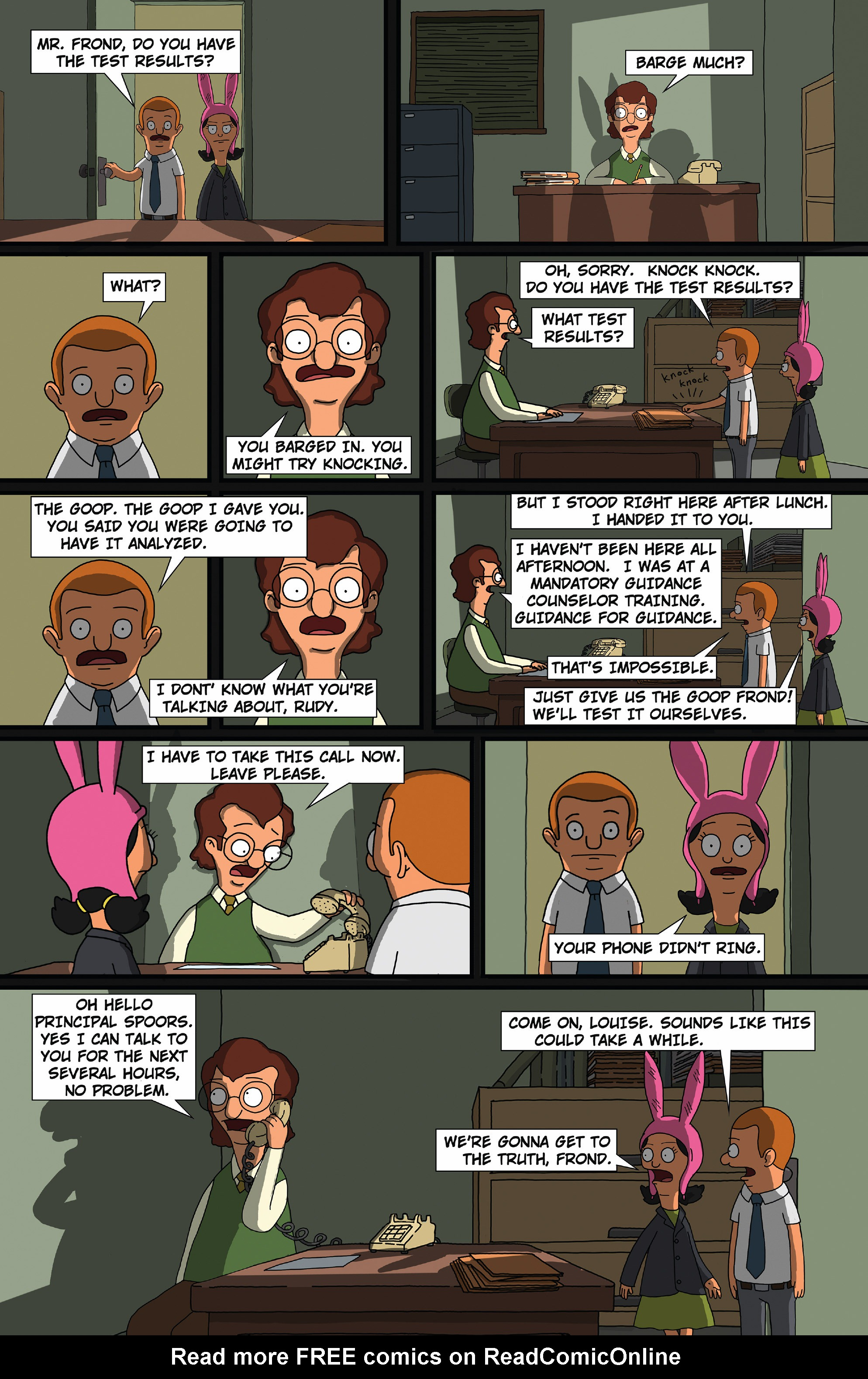 Bob's Burgers (2015) Issue #8 #8 - English 18