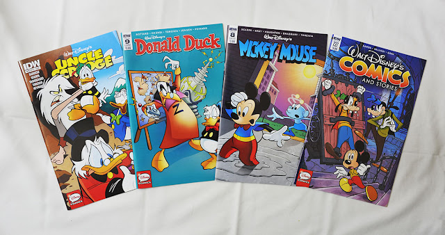 January 2016 Disney comics from IDW