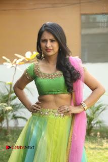 Actress Nikitha Bisht Stills in Lehenga Choli at Pochampally Ikat Art Mela Launch  0225.JPG