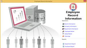 Employee records management system