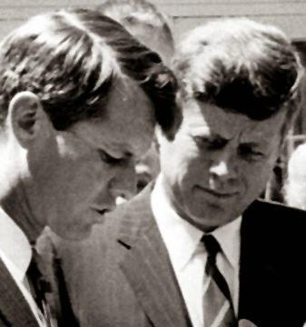President John F. Kennedy Attorney General Robert F. Kennedy