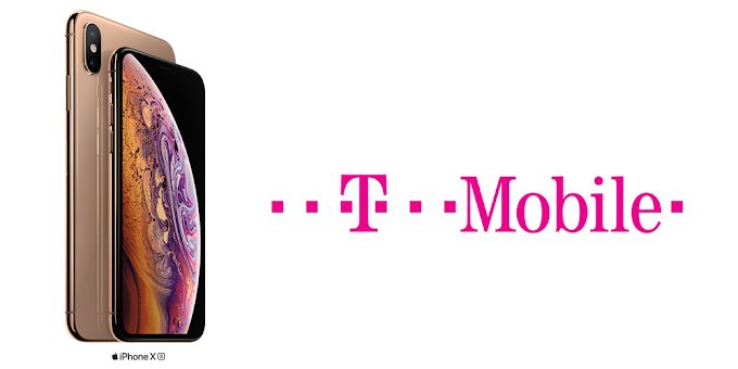 Save $300 on T-Mobile with iPhone XS purchase