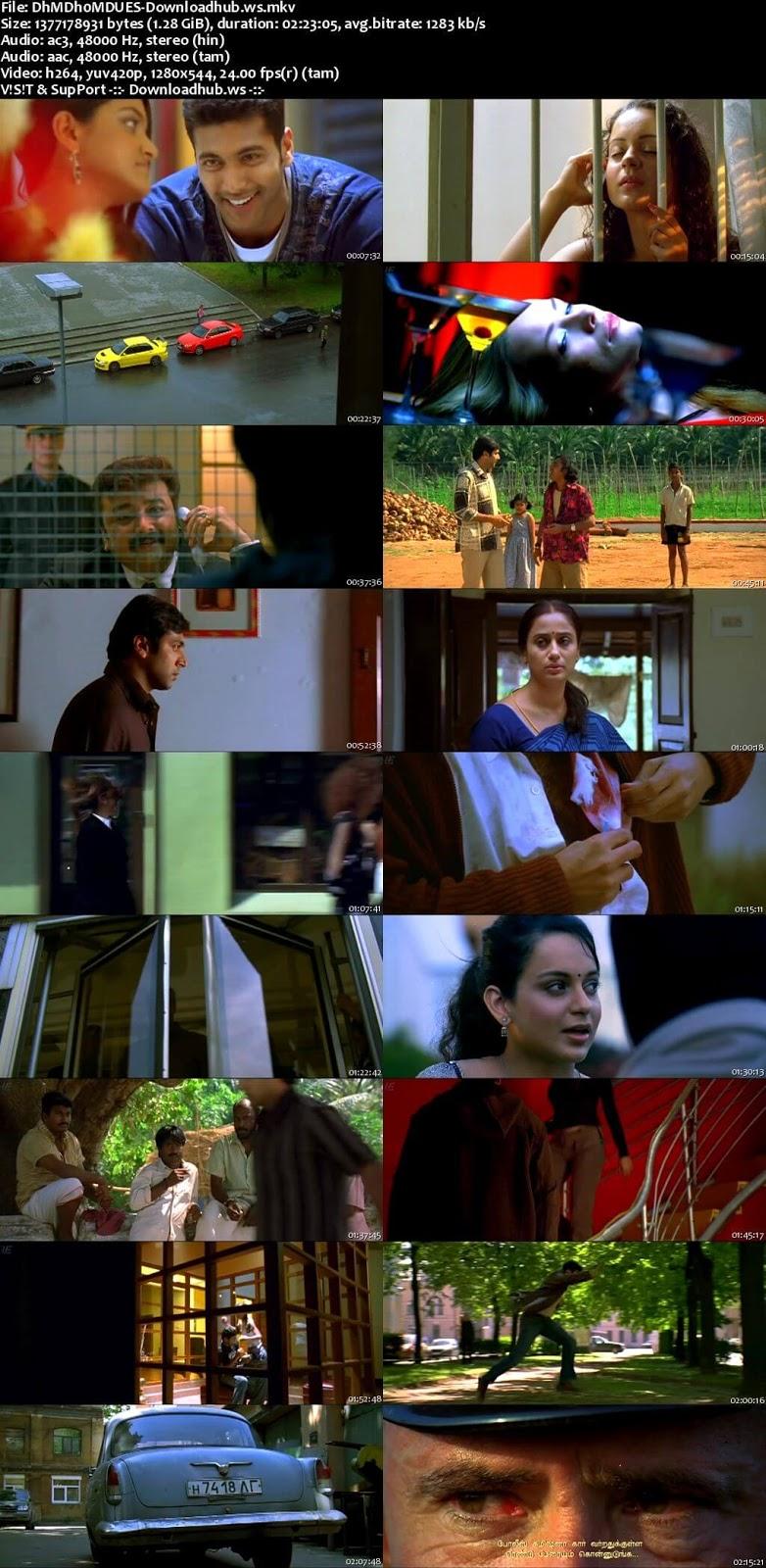 Dhaam Dhoom 2008 UNCUT Hindi Dual Audio 720p  Download