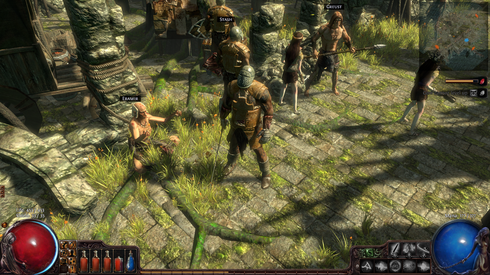 The Six Sided Ring of Fire: Action RPG: Path of Exile Open